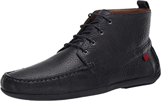 MARC JOSEPH 纽约男式皮革奢华驾车风格及踝靴 带系带