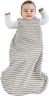 Woolino 嬰兒睡袋 - 四季基本款美利奴羊毛睡袋,0-3 歲 土 0-6 個月