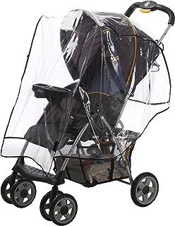 alphabetz 婴儿车防风防雨罩透明均码