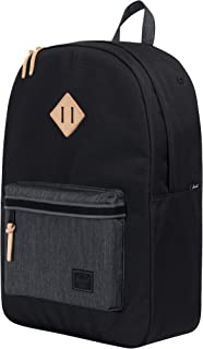 Herschel Heritage 背包 Black/Black Denim 均码
