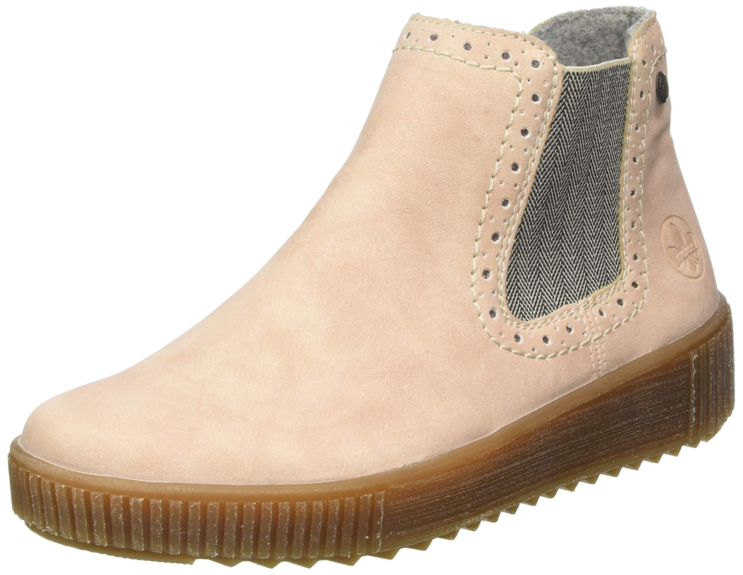 Rieker 女式 Herbst/冬季切尔西靴