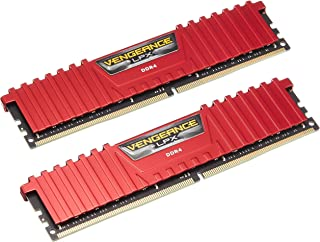 Corsair海盗船 Vengeance LPX 内存工具 Vengeance LPX Red 32GB (2 x 16GB)