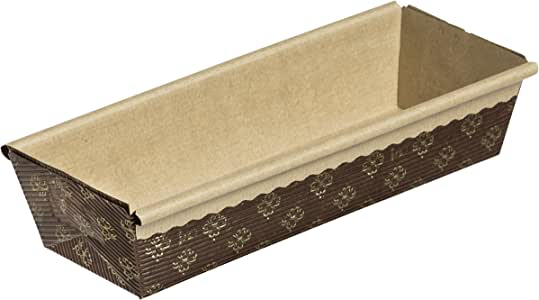 """Kitchen Supply 9"""" x 23/4"""" x 2"""" Paper Loaf Pan, Set of 25"""