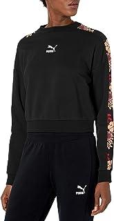 PUMA 彪马 Women's Trend 女士全印花圆领运动衫