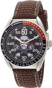 Christian Audigier 男式石英不锈钢橡胶休闲手表(型号:ETE 120)