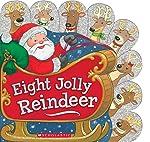 (进口原版)  Eight Jolly Reindeer