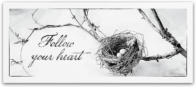 Trademark Fine Art Nest and Branch III Artwork by Debra Van Swearingen, 10 by 24-Inch