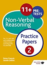 11+ Non-Verbal Reasoning Practice Papers  2: For 11+, pre-test and independent school exams including CEM, GL and ISEB (GP) (English Edition)