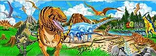 Melissa & Doug 恐龙地板拼图(48块,4英尺/约122厘米长)