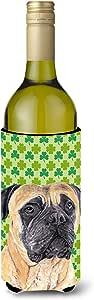 Caroline's Treasures SC9305-Parent Mastiff St. Patrick's Day 三叶草肖肖像超饮隔热器适用于*罐 SC9305MUK,多色 多种颜色 750 ml SC9305LITERK