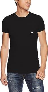 EMPORIO ARMANI 阿玛尼 CC729弹力棉 圆领T恤 男士
