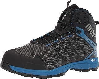 Inov-8 男士 Roclite G 370 – 防水徒步靴 – 轻盈透气 – 石墨绿抓地力 – 中筒靴 – 纯素