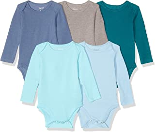Hanes Ultimate Baby Flexy 长袖连体衣 5 件套