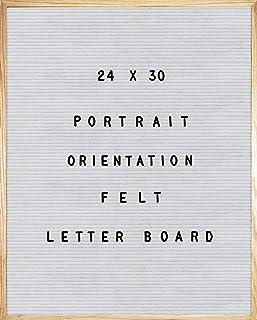白色毛毡字母板 24 X 30 肖像方向,692 件一组 1 英寸和 3/4 英寸字母、符号和表情,36 个槽套装收纳器,刀具,2 个字母袋,大号展示板