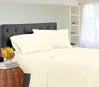 400支100% 棉床单套装加州大号双人床张光滑棉缎编织深口设计奢华床上用品加州大号双人床床单4件套灰色 CASA Platino