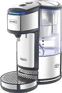 Breville 铂富 VKJ367 Brita 加热饮水机 配集成水过滤器,3 千瓦快煮和,水量可调,1.8 升,不锈钢