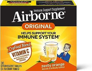 Schiff Airborne 橙味VC泡腾片,30片,1000毫克维生素C
