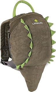 LittleLife 英国动物造型幼儿防走失小背包 小鳄鱼