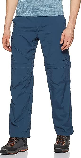 Columbia 男式 Silver Ridge 可转换裤,透气,UPF 32x32 蓝色 1441671-403-32x32