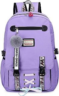 女孩背包青少年防盗背包女学生书包