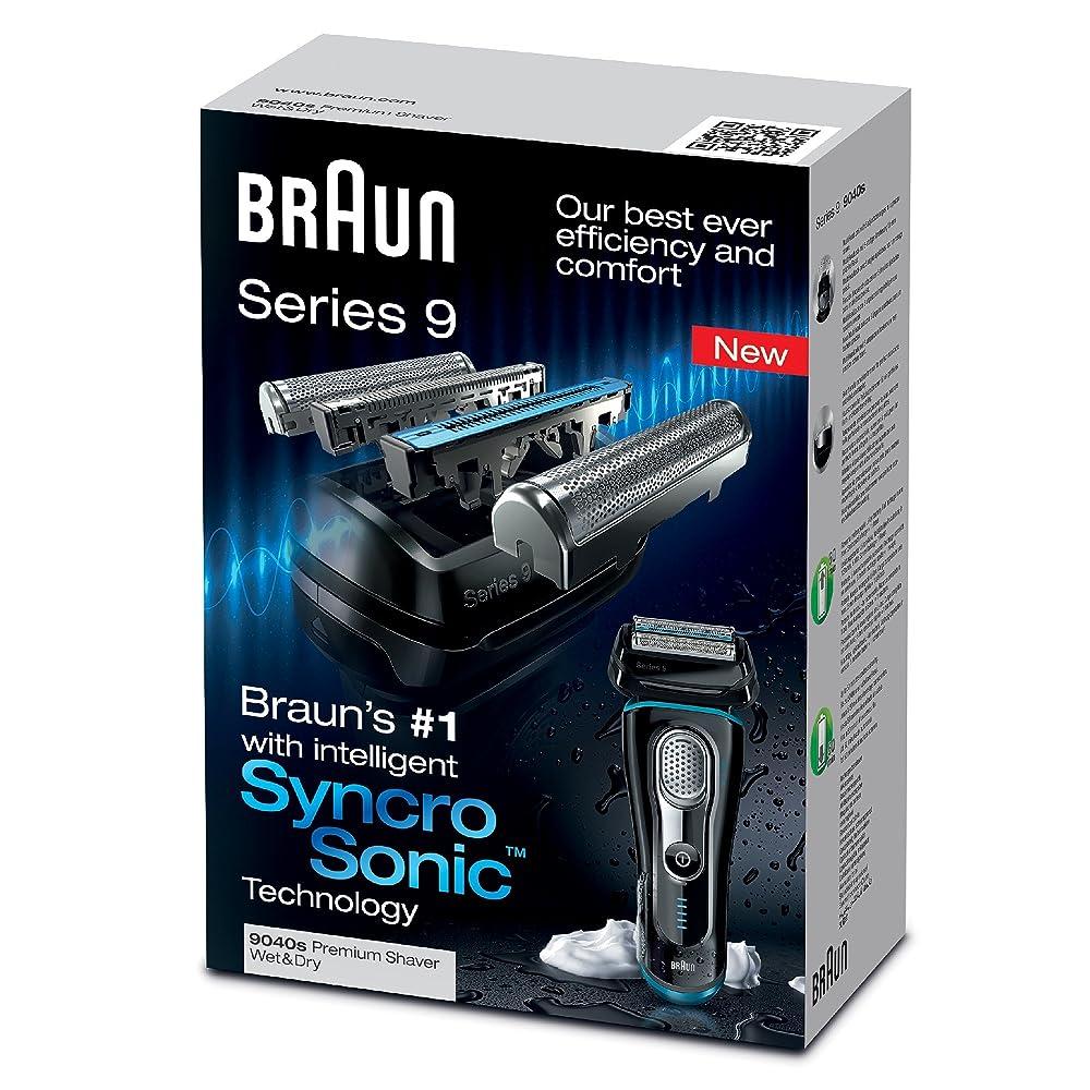 Braun 博朗 9040c 9系旗舰级四刀头往复式电动剃须刀