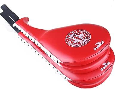 PMLAND 2 件红色Taekwondo 耐用踢水垫目标用于踢球训练
