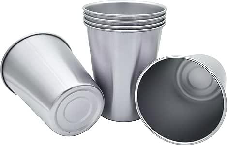 RushGo 6 件套不锈钢杯 品脱杯 340.19 克抽屉包装