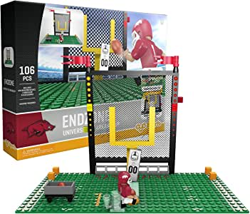 OYO NCAA Arkansas Razorbacks End Zone Set Gen 2 可搭建套装,小号,黑色