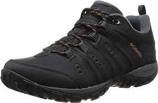 Columbia Men's Peakfreak Nomad Waterproof Leather Shoes Black (Black/Caramel 010) 7 UK