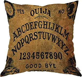 Moslion 抱枕套 7 条生命规则励志引语棉麻靠垫套 适用于沙发/沙发/厨房/汽车/男孩 Gilrs 卧室客厅 45.72 x 45.72 cm 枕套 Multi 16 18X18 inch ANOBIS-QC16