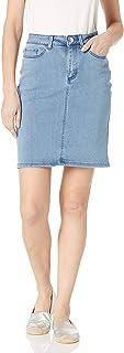 LEE 女式常规版 53.34 cm 牛仔裙