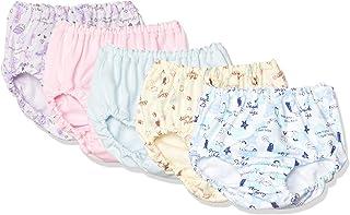 GALOE 5条装 短裤 动物图案/单点图案 全花纹 女童