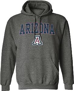 NCAA 男式颜料染色连帽套头衫 Dark Heather X大码