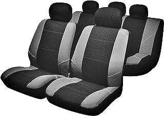 Sakura BY0802 座椅套,完整套装,银色/黑色