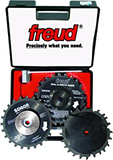 Freud SD608 8-Inch Dial-A-Width Stacked Dado Set 5/8-Inch Arbor