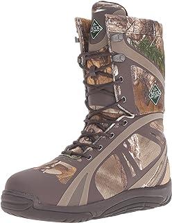 Muck Boots Pursuit Shadow Rubber 轻质隔热 Scent-Masking 系带男式狩猎靴