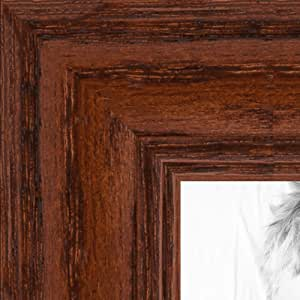 "ArtToFrames 画框深红色橡木染黑 3.18 cm 宽 胡桃棕色 6 x 23"" 2WOM0066-59504-YWAL-6x23"