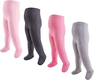 Hudson 女婴棉质紧身裤,4 条装