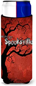 Welcome to Spooksville Halloween Michelob Ultra Koozies for slim cans SB3008MUK 多色 Slim