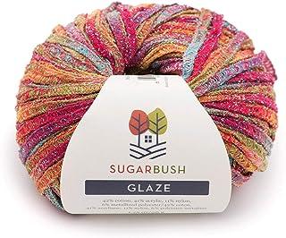 Sugar Bush Yarn Glaze Bulky Weight,Sailor's Delight,10 件 Sailor's Delight 6480066006P10