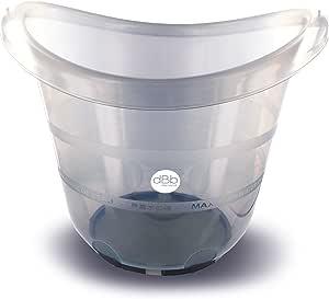 dBb Remond 婴儿浴缸 适用于新生儿,透明,灰色