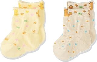 Baby Story 新生儿袜子2双装 リス&ヒヨコ