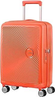 American Tourister - Soundbox Spinner 可扩充的行李箱 Orange (Spicy Peach) S (55cm-41L)