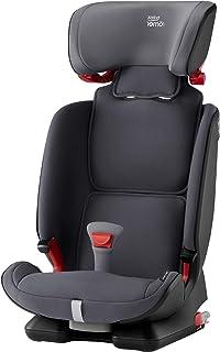 Britax 宝得适 ADVANSAFIX IV M 百变骑士4 Group 1-2-3 汽车安全座椅,Isofix安装,正反向,适合9个月-12岁 (9-36KG),黑色