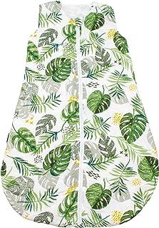 Bebe au Lait 雨林平纹细布睡袋,12-18个月,*,均码