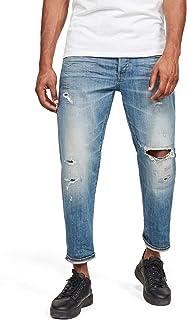 G-Star Raw 男式 Ryck 3D 直筒修身牛仔裤