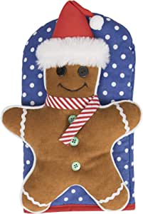 Ritz 棉质烤箱手套 Gingerbread Man 1-包每包 1 条 19432