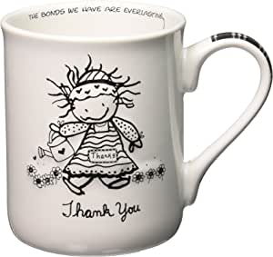 Enesco Children of the Inner Light Thank You Mug, 4-1/2-Inch