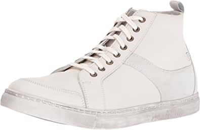 Stacy Adams 男士 Winchell 莫卡辛鞋头高帮靴 白色 12 M US