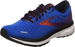Brooks 缓震系列 男款 Ghost 13 跑鞋, Blue/Red/White, 10 UK